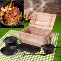 00001361 Kookpot set voor bbq barbecue acc