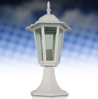 1401 Tuinlamp wit