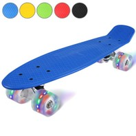 2401 Led Skateboard blauw