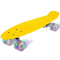 2402 Led Skateboard geel