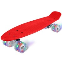 2403 Led Skateboard rood