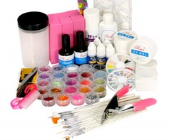 1109 52 delige uv gel starterset / nail art set / gelnagels acryl