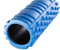 990001248B Yoga massagerol foamroller blauw training
