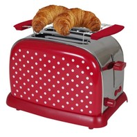 0682 Broodrooster Toaster 950W rood