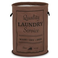 003854 Wasmand bruin laundry service