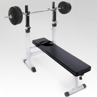 0549 Halterbank Workoutbank Workoutbench plus 40 kg gewichten
