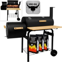 0657A King barbecue smoker grillwagen pro