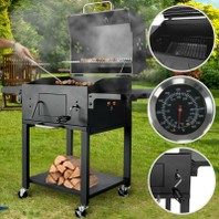 0657S BBQ Smoker Barbecue grill houtskoolgrill