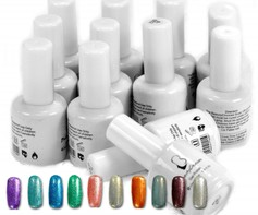 9001107D Soak off base + uv gel nagellak 12 potjes gellak gellac 15ml