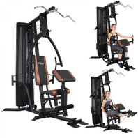 001124X Pro workout station krachttrainging hometrainer