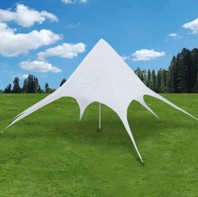0171 Pyramidetent wit pyramide tent 10 x 10 meter